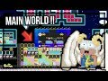 WTF !?!? BUILDING MAIN WORLD SULTAN BUAT THE DREAM CRAFT !! - Growtopia Indonesia