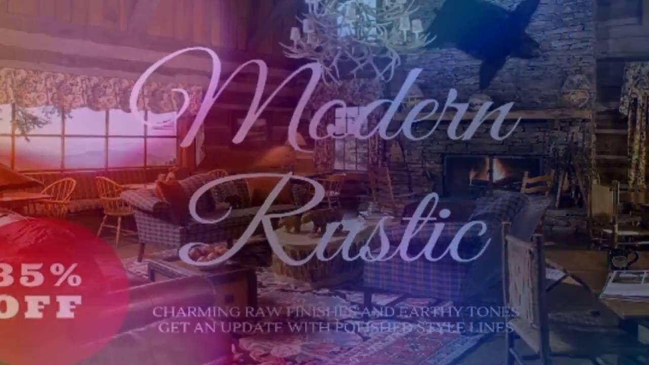 Modern Rustic Home Decor Sale Online Australia Youtube