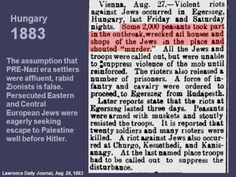 Israel/Palestinians: Newspaper Archives Debunk Palestinian Revisionism