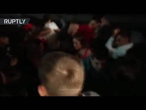 Pier collapses during Spanish music festival in Vigo, panic ensues
