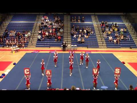 Caroline High School Cavalier Cheer Challenge 2018