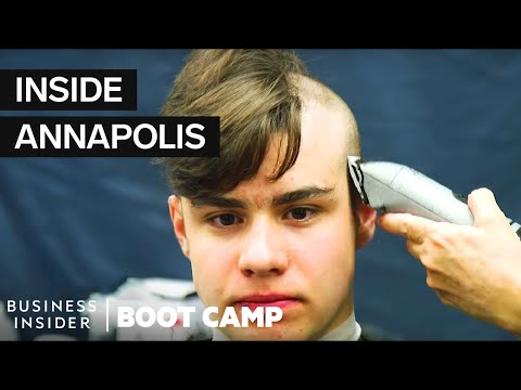 What New Navy Plebes Go Through On Their First Day At Annapolis