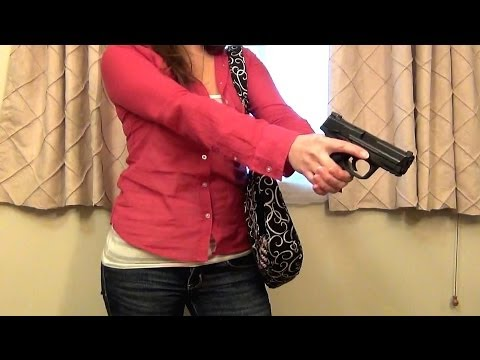 """Concealed Carry Gun Purse from """"Concealed Chic"""""""