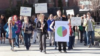 Adjunct Faculty Protest
