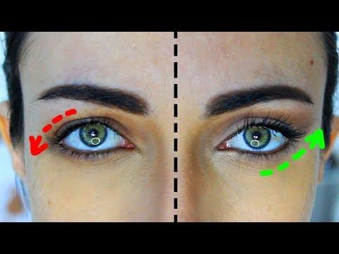 how-to-sculpt-downturned-droopy-eyes-(natural-look)-|-makeupandartfreak