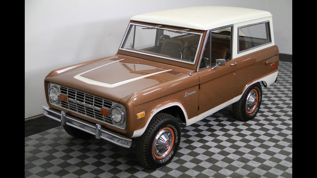 1975 ford bronco ranger for sale youtube. Black Bedroom Furniture Sets. Home Design Ideas