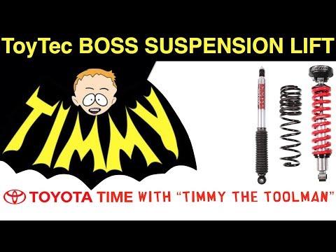 ToyTec Boss Complete Suspension Lift Installation