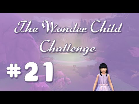 Sims 4 Wonder Child Challenge 21: Rambunctious Scamp