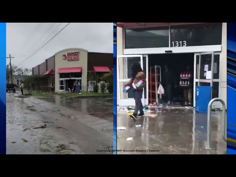 WATCH: Rampant Looting Occurs at a Family Dollar Store in Wilmington