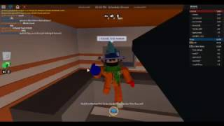 Hidden vent escape trick in the kitchen on ROBLOX JailBreak