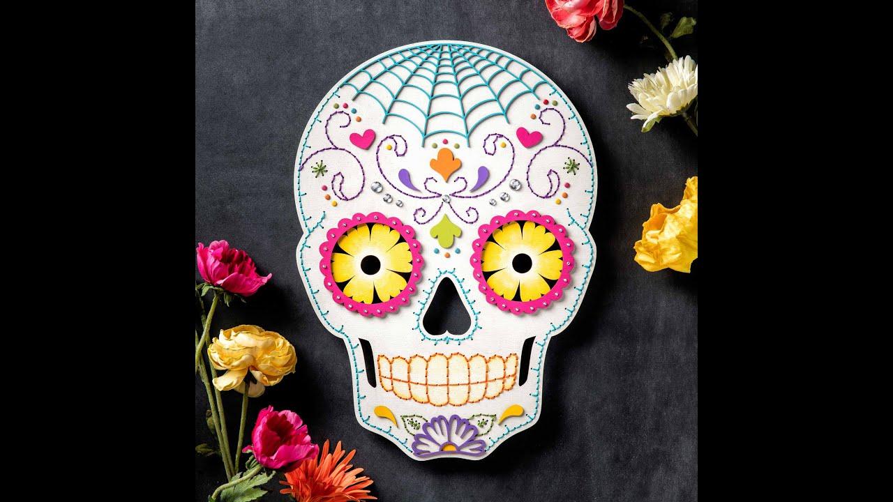 Halloween skulls decoration - Sugar Skull Craft Diy Halloween Decor Apostrophe S Hey Sugar