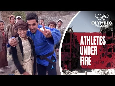 The Olympian who risks his Life to Teach Kids Judo   Athletes Under Fire