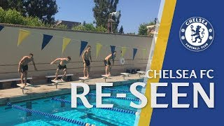 Who wins the chelsea fc swimming race? find out in chelsea re-seen - best of august!