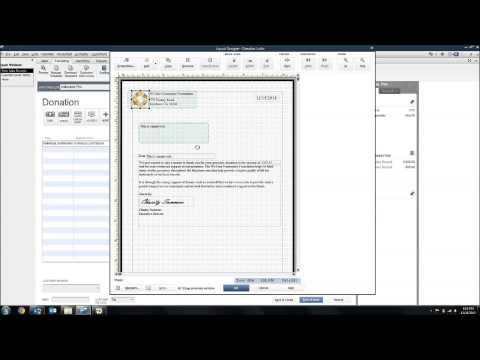 Thank You Letter Templates in QuickBooks