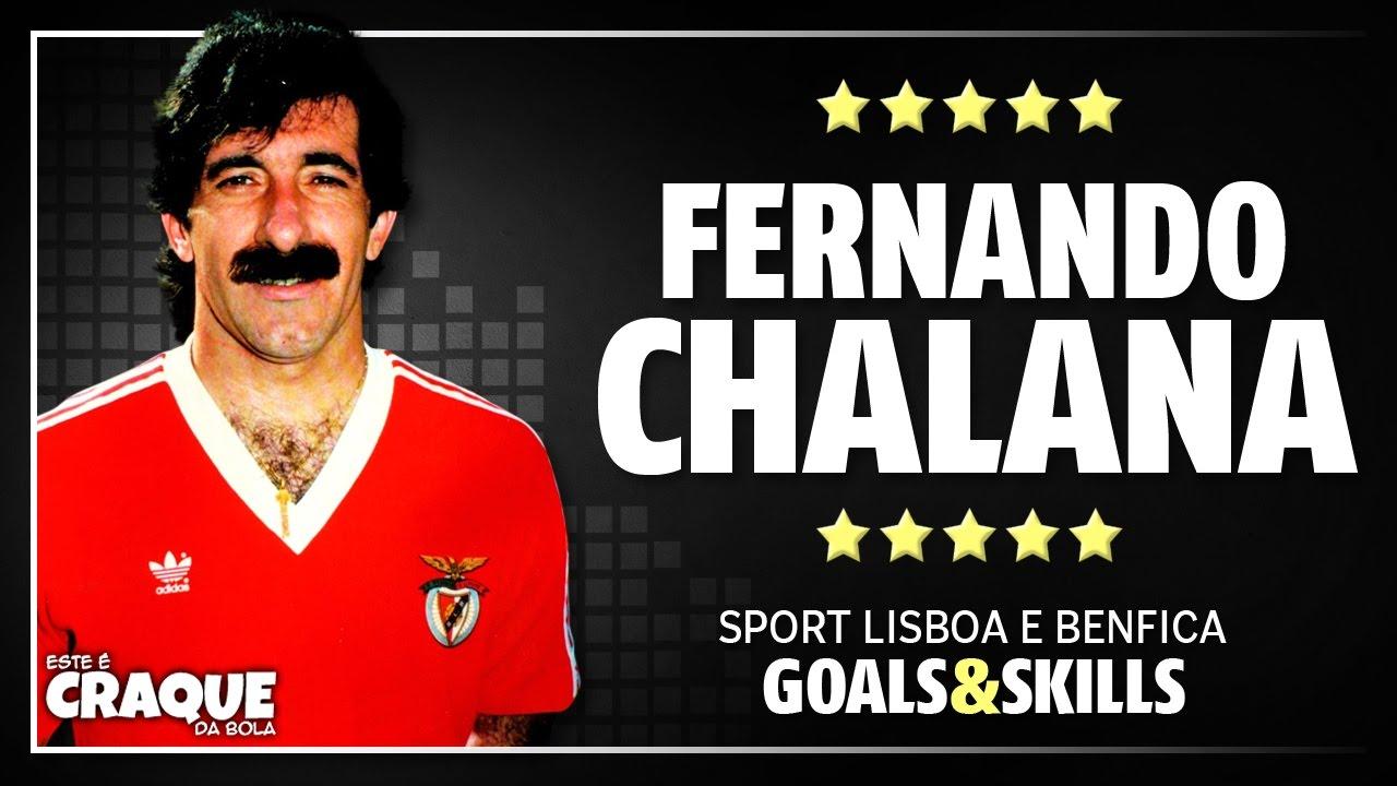 FERNANDO CHALANA SL Benfica Goals & Skills