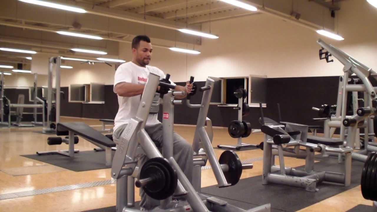 Rudern an der dualen Ruderzugmaschine (Rücken) - YouTube