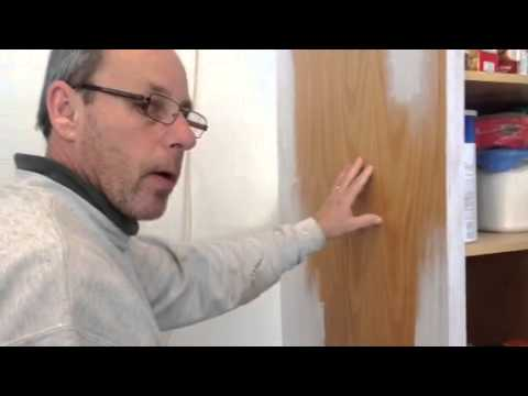 Painting over varnish