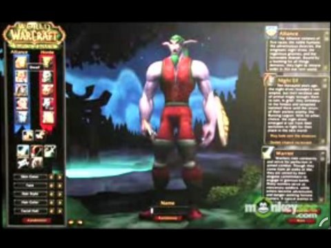 World Of Warcraft - Character Creation