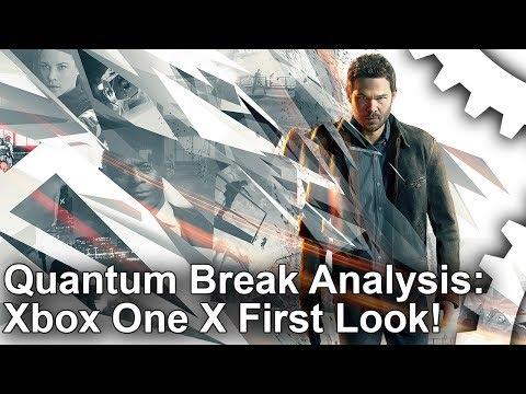 [4K] Quantum Break Xbox One X vs Xbox One: First Look!