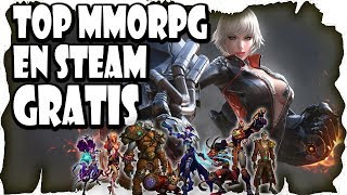 Lista Top 10 Mejores MMOrpg Gratis en Steam | Mejores MMO Free To Play de Steam | Varolete