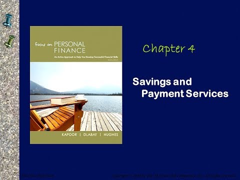 Lecture 11-Financial Services (Chapter 4)