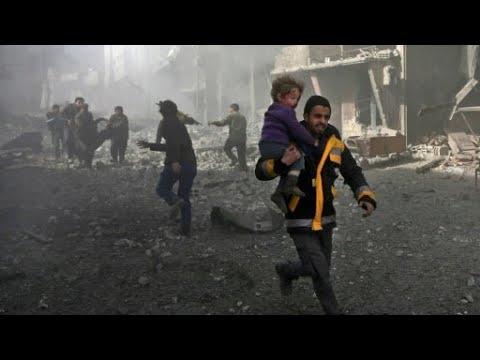 أكثر من 250 قتيلا في الغوطة الشرقية خلال ثلاثة أيام ومطالبات -بهدنة إنسانية-  - نشر قبل 2 ساعة