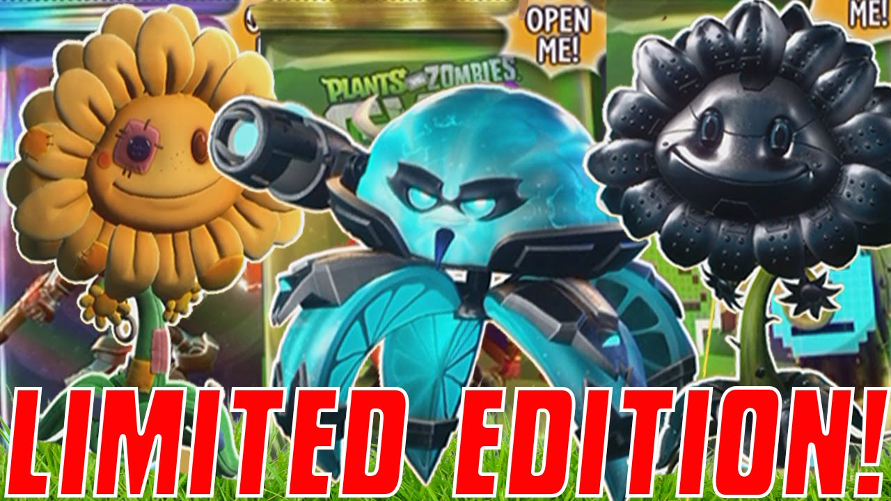 ULTIMATE LIMITED EDITION PACKS! | Plants vs  Zombies: Garden Warfare 2  Stickers