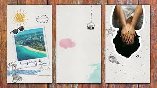 Travelers Sketchbook - Instagram Stories Pack - After Effects template from Videohive