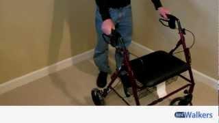 Just Walkers: Medline Heavy Duty Rollator