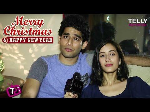 Priyanshu Jora & Namita Dubey   Merry Christmas & Happy New Year 2017  Telly Reporter