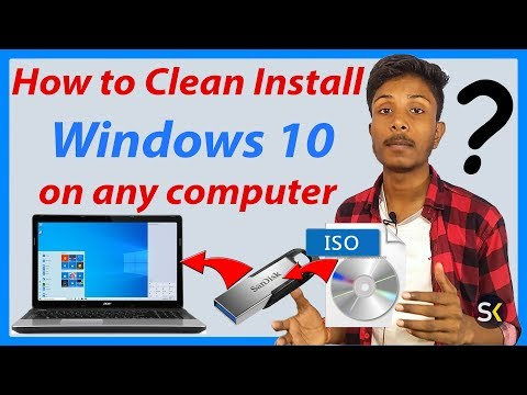 How to Install Window 10 on any Computer 🔥🔥🔥