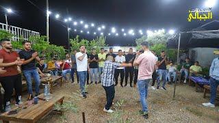 سهرة في مقهى البيدر مع الفنانين اسامة القبج و باسل غانم   عنبتا T Aljabaly2021