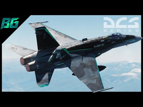 "Sick New F-18 ""Blu Arrow Force"" Livery Reveal 