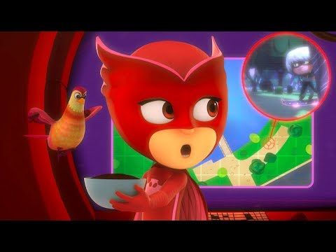 PJ Masks Episodes - Owlette's Feathered Friend! - NEW 45 MIN Compilation - Cartoons for Children