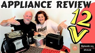 RoadPro 12 Volt Appliance Review: What Worked, What Didn&#39t and Energy Usage Reports