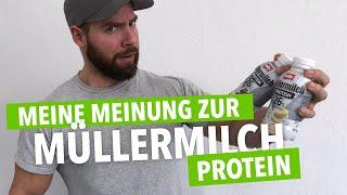 Müllermilch Protein Test🥛 Was taugt der 26g Eiweißdrink wirklich?