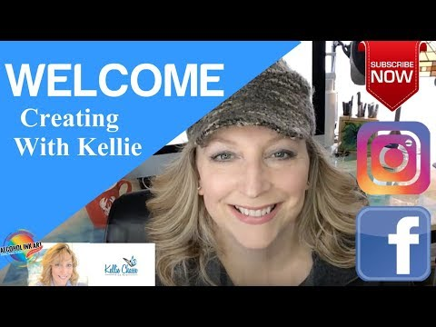 Kellie Chasse Fine Art Channel Welcome Intro - Online Art Courses