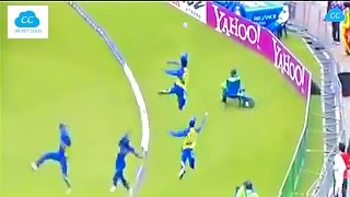 Best Fielding in the Cricket History - Acrobatic Fielding !!  (Please Comment ur favorite)