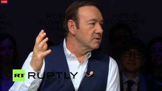 LIVE:  WEF 2016: One-on –One with Kevin Spacey