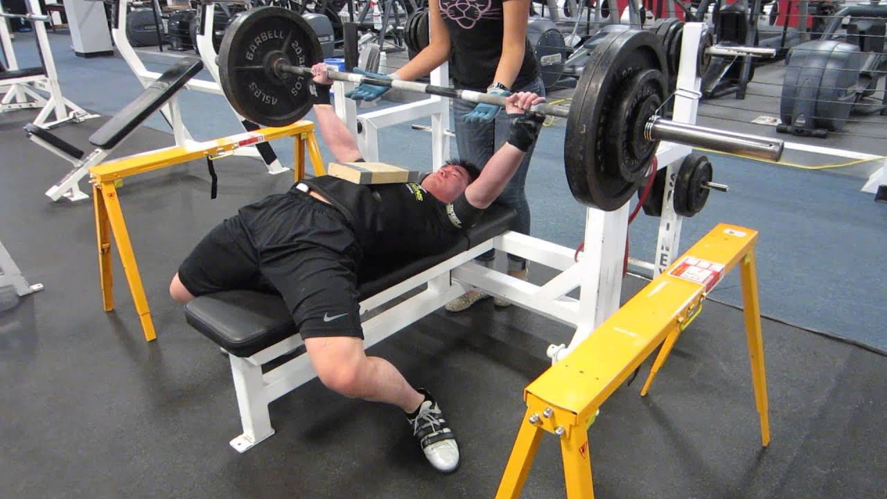 Safety Stands For Bench Press Part - 16: Sawhorses FTW (4/27/2013)