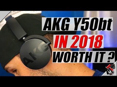 AKG Y50bt Bluetooth Headphones in 2018- My Experience