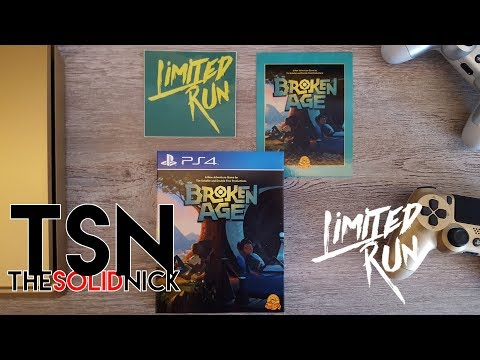 Limited Run Games - Broken Age Physical Version PS4