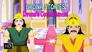Drona - King Dronacharya - Stories Of Mahabaratha - Hindu Epic - Mythological Stories