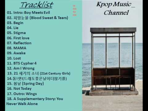 [Full Album] 방탄소년단 (BTS) – You Never Walk Alone