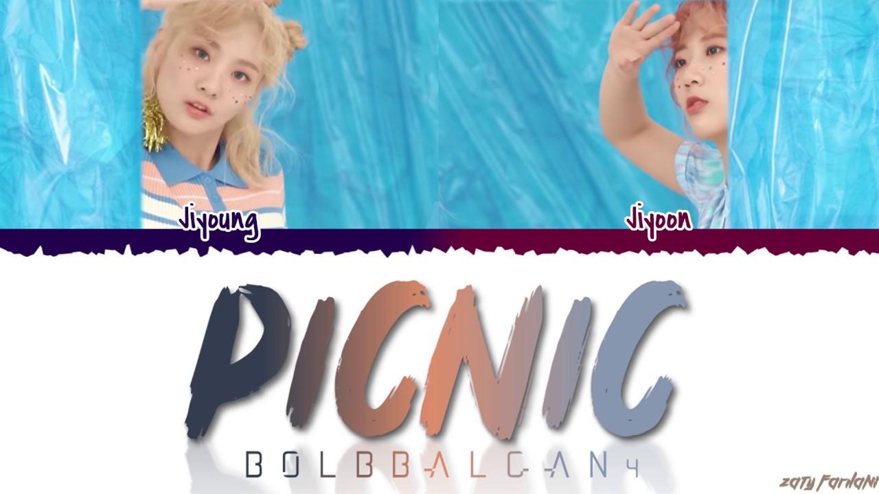 BOL4 (볼빨간사춘기) - 'PICNIC' (나들이 갈까) Lyrics [Color Coded_Han_Rom_Eng]