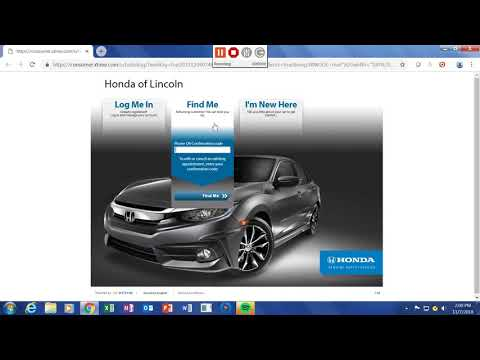 How to schedule service online at Honda of Lincoln.