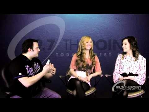 Megan & Liz - Interview (99.7 The Point)