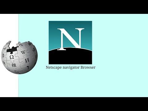1994, Netscape navigator Browser