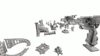 RPG Tools - 3D RPG and Wargaming Megapack Flythrough