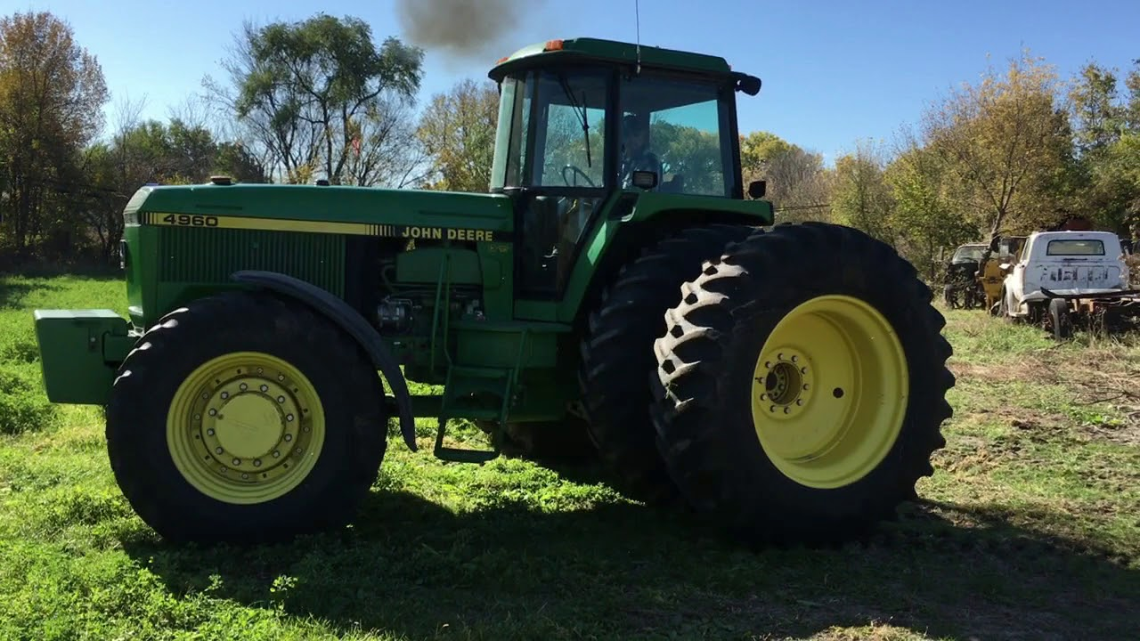 BigIron com 1992 John Deere 4960 Tractor 11-22-17 auction